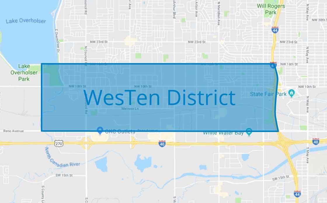 westen-map-location