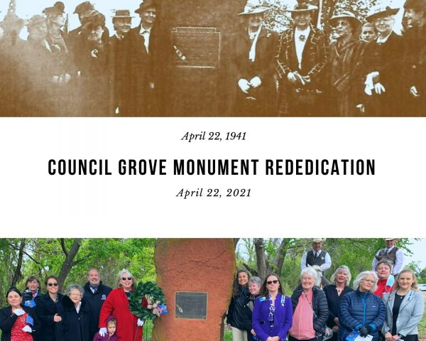 Council Grove Monument Rededication
